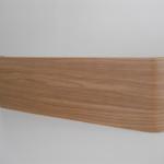 Pannello curvato in legno