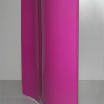 Antina curva laccata viola