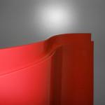 Antina curvata rossa