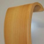 Particolare curvatura legno